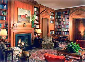 Guest Library at Litchfield Plantation